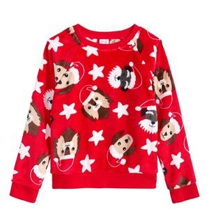 🌺4 Items $25🌺 Dog Faux Fur Sweater-NWT-Girls